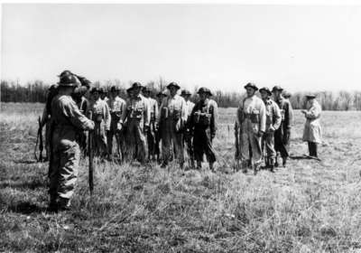 Canadian Officers' Traning Corps field exercises