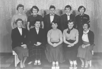 Waterloo College Womens Basketball Team 1954 55