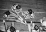 Waterloo College women basketball players