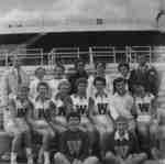Waterloo College women's track team, October 1956