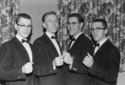 Purple and Gold Revue Quartette, 1957