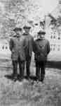 Three Evangelical Lutheran Seminary of Canada graduates, 1926