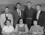 Waterloo College sophomore class executive, 1955-56