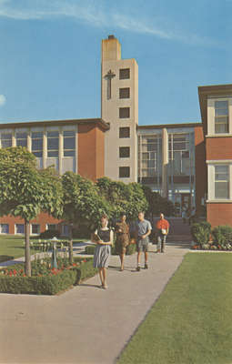 Arts Building, Waterloo Lutheran University