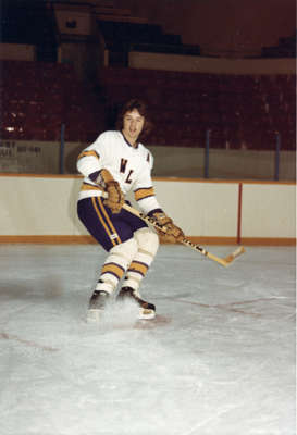 Kim Bauer, Wilfrid Laurier University hockey player