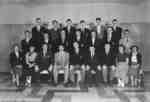 Waterloo College sophomore class, 1954-55
