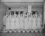 Nursing Class, Waterloo College, 1953-54