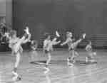 Waterloo Lutheran University cheerleaders