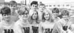 Waterloo Lutheran University cheerleaders, 1967-68