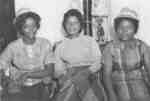 Three female Waterloo Lutheran University students