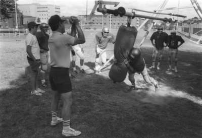 Wilfrid Laurier University football training camp, 1989