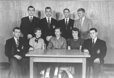 Waterloo College Junior Prom Committee 1954 55
