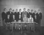 Keystone advertising staff, 1953-54