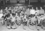 Waterloo College hockey team, 1954-55