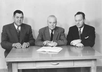 Members Of The Board Governors 1954 55