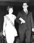 Miss Waterloo Lutheran University 1965, and her escort