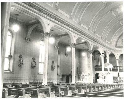 Église catholique du Sacré-Coeur, Sturgeon Falls / Sacred Heart catholic church, Sturgeon Falls