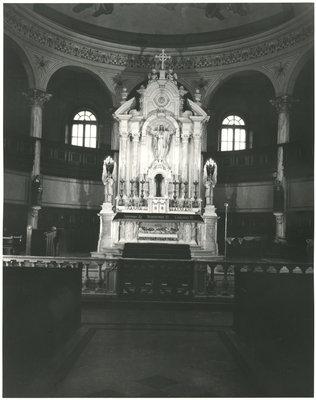 Autel de l'Église catholique du Sacré-Coeur, Sturgeon Falls / Sacred Heart catholic church altar, Sturgeon Falls