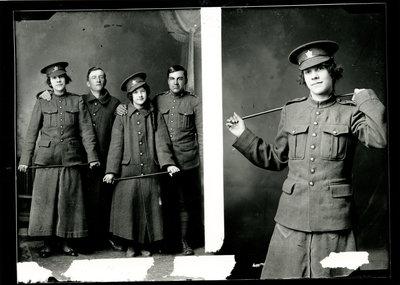 Vétérans de la guerre / War veterans