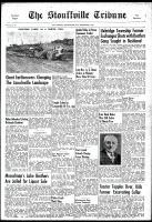 Stouffville Tribune (Stouffville, ON), September 6, 1951