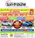 Stouffville Sun-Tribune (Stouffville, ON), 12 May 2016