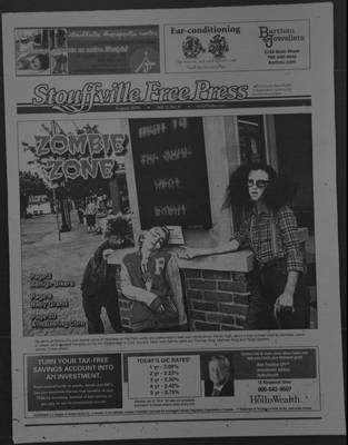 Stouffville Free Press (Stouffville Ontario: Stouffville Free Press Inc.), 1 Aug 2014