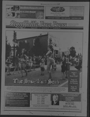 Stouffville Free Press (Stouffville Ontario: Stouffville Free Press Inc.), 1 Aug 2015