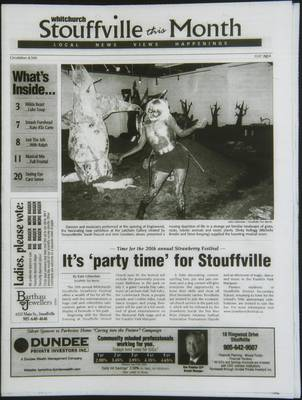 Whitchurch-Stouffville This Month (Stouffville Ontario: Star Marketing (1460912 Ontario Inc), 2001), 1 Jul 2004