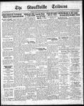 Stouffville Tribune (Stouffville, ON), November 11, 1937