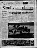 Stouffville Tribune (Stouffville, ON), January 15, 2000