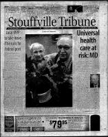 Stouffville Tribune (Stouffville, ON), March 30, 2000