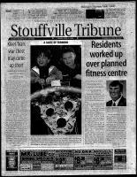 Stouffville Tribune (Stouffville, ON), April 4, 2000