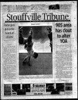 Stouffville Tribune (Stouffville, ON), August 8, 2000