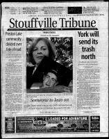 Stouffville Tribune (Stouffville, ON), September 16, 2000