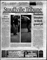 Stouffville Tribune (Stouffville, ON), October 12, 2000