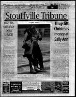 Stouffville Tribune (Stouffville, ON), December 9, 2000
