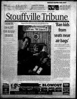 Stouffville Tribune (Stouffville, ON), March 17, 2001
