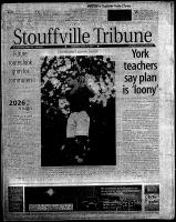 Stouffville Tribune (Stouffville, ON), June 14, 2001