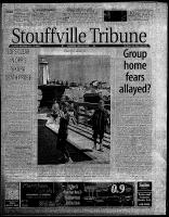 Stouffville Tribune (Stouffville, ON), July 28, 2001