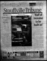 Stouffville Tribune (Stouffville, ON), August 11, 2001