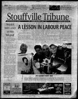 Stouffville Tribune (Stouffville, ON), September 1, 2001