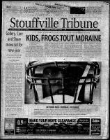 Stouffville Tribune (Stouffville, ON), September 8, 2001