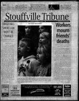 Stouffville Tribune (Stouffville, ON), November 10, 2001