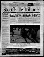 Stouffville Tribune (Stouffville, ON), December 1, 2001