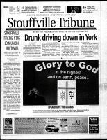 Stouffville Tribune (Stouffville, ON), January 5, 2002