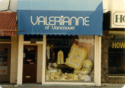 Valerianne of Vancouver