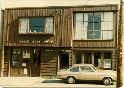 Dave Walker's Auto Body Shop