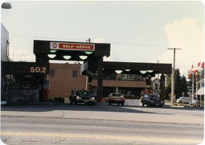Gulf Service Station