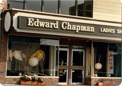 Edward Chapman Ladies Shop