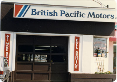 British Pacific Motors